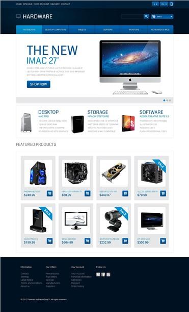 Responsive Hardware Store