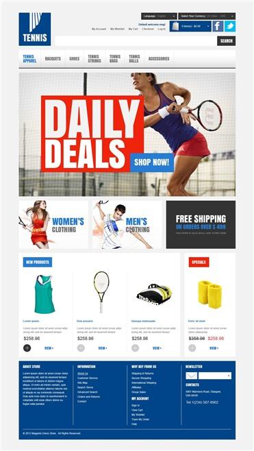 Tennis Store