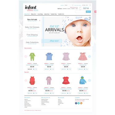 Online Infant Store