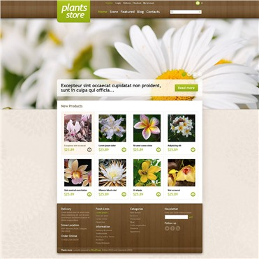 Responsive Plants Store