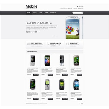 Responsive Mobile Store