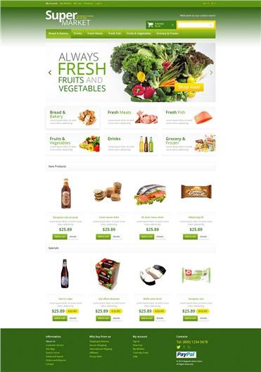 Responsive Supermarket