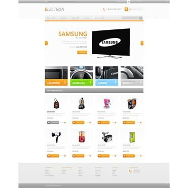 Responsive Electronics Store