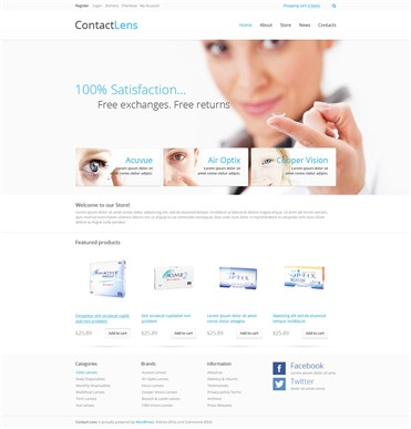 Contact Lenses Store
