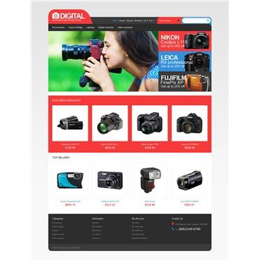 Responsive Digital Photo & Video Store