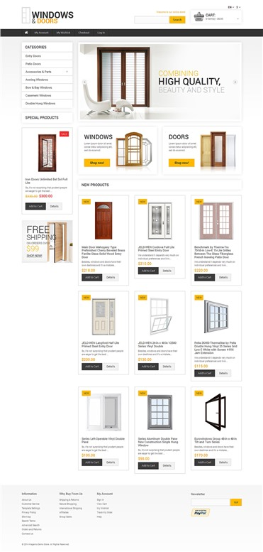 Minimalist Windows and Doors