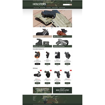 Durable Holsters for Weapons