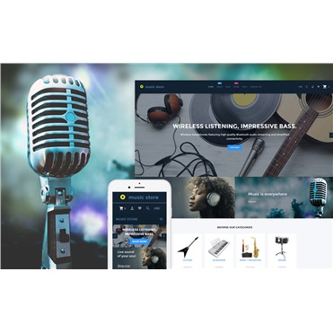 Music Store - Audio & Music Store