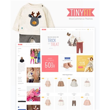 TinyFit WooCommerce Theme