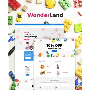 WonderLand - Toys Store Responsive
