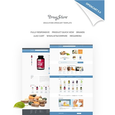 DrugStore Responsive Website Template