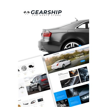 GearShip - Car Parts Store Elementor