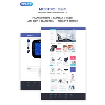 Medstore - Responsive Medical Equipment Online Store