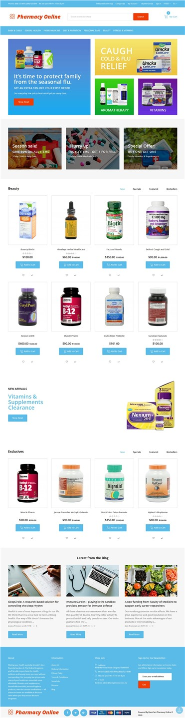 Pharmacy Online - Drug Store