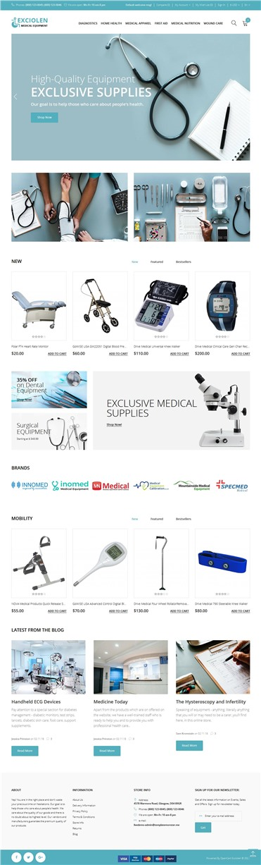 Exciolen - Medical Equipment Store