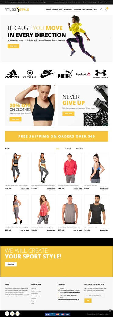 Fitness Style - Sports Fashion