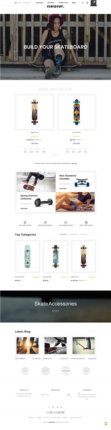 Iskater - The Sport Hub Responsive