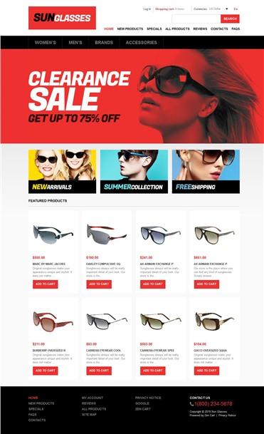 Stylish Sunglasses Store
