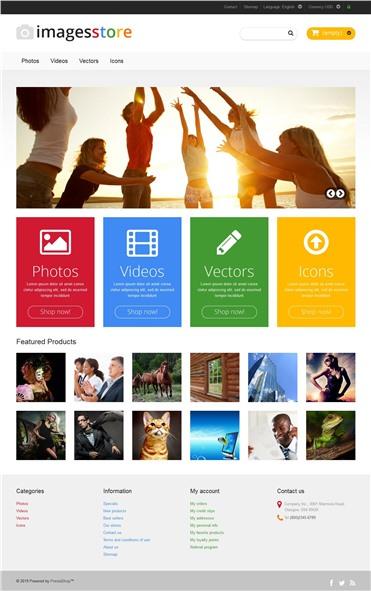 Responsive Image Store
