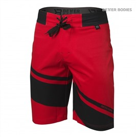 Шорты Better Bodies Pro Boardshorts, Bright Red