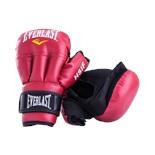 Перчатки для рукопашного боя HSIF RF3106, 6oz, к/з, красный