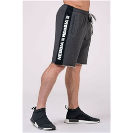 NE Shorts with lampas цв.серый