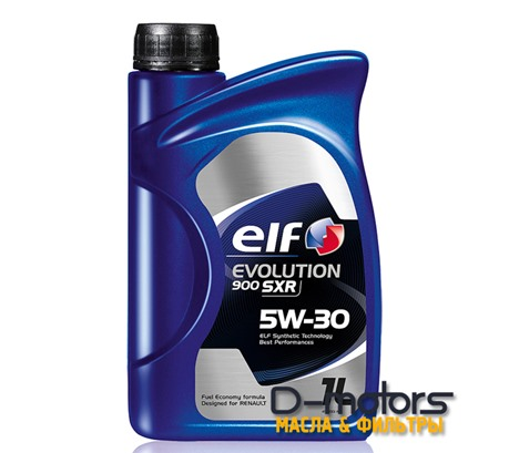 Моторное масло ELF Evolution 900 SXR 5W-30 (1л.)