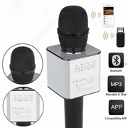 Беспроводной караоке микрофон Micgeek Q9 черный