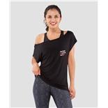 Женская футболка Ease Off black FA-WT-0202-BLK, черный