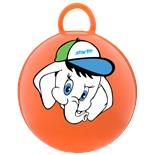 """Мяч-попрыгун """"Слоненок"""" GB-401, 45 см, с ручкой, оранжевый"""