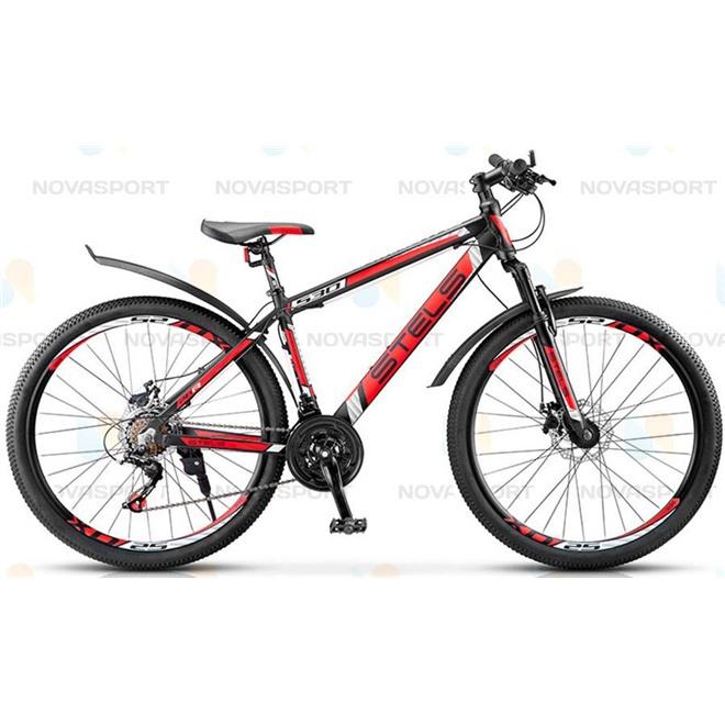 Велосипед Stels Navigator 530 MD 26 (2016) Черный/Красный, интернет-магазин Sportcoast.ru