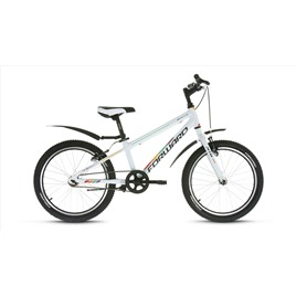 Велосипед Forward Unit Pro 1.0 20 (2017) Белый, интернет-магазин Sportcoast.ru