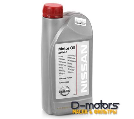 NISSAN MOTOR OIL 5W-40 (1л.)