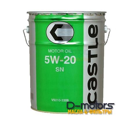 Моторное масло Castle SN 5W-20 GF5 (20л.)