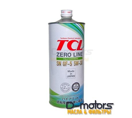 Моторное масло TCL Zero Line 5W-30 SN/GF-5 (1л.)