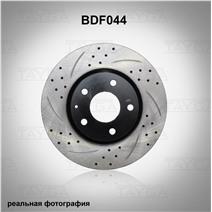 BDF044. Передняя ось. Перфорация + слоты