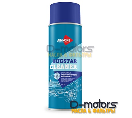 Очиститель гудрона и следов насекомых Aim-One Bugstar Cleaner (450мл)