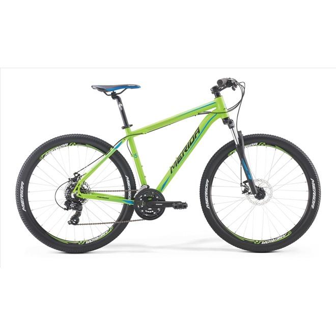 Велосипед Merida Big Seven 10MD Matt Green/Black/Blue/Black (2017) , интернет-магазин Sportcoast.ru