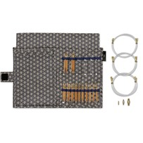 Hабор разъёмных спиц 5 см №2.25-6.0 мм, KOSHITSU, KA Seeknit, ID 58906-11