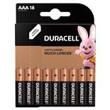 Батарейки алкалиновые Duracell Basic LR03 (AAA) 18 шт 81483686 (453559)