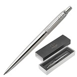 Ручка шариковая Parker Jotter Premium Stainless Steel Diagonal с гравировкой CT 1953197