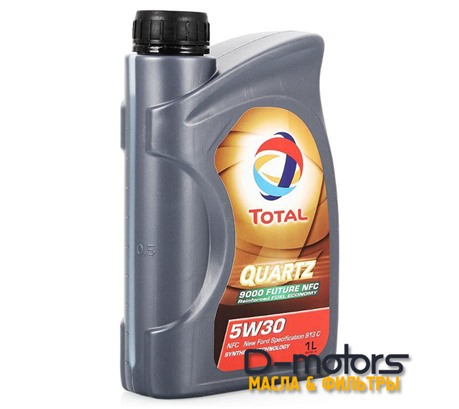 Моторное масло Total Quartz 9000 Future NFC 5W-30 (1л.)