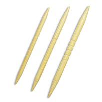 Спицы для вязания кос рифленые бамбуковые KA Seeknit, ID 06198