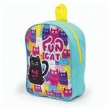 Рюкзак детский Пифагор Черный кот 227958