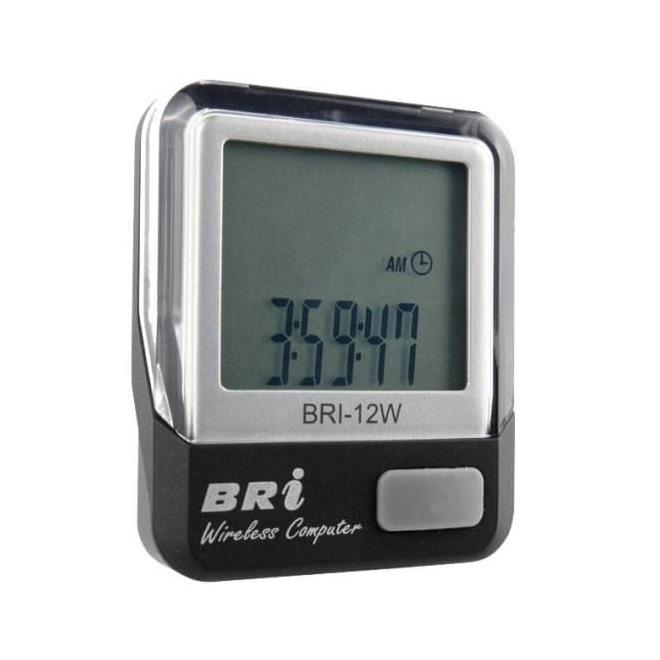 Велокомпьютер BRI-12W,серебро,беспроводной,12 функций, интернет-магазин Sportcoast.ru