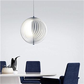 Подвесной металлический светильник