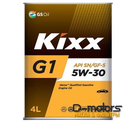 Моторное мало Kixx G1 Dexos1 5w-30 (4л)