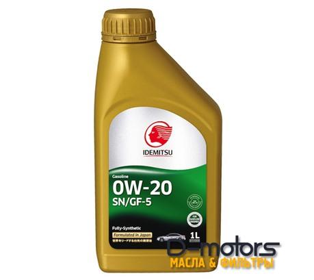 Моторное масло Idemitsu 0W-20 (1л.)