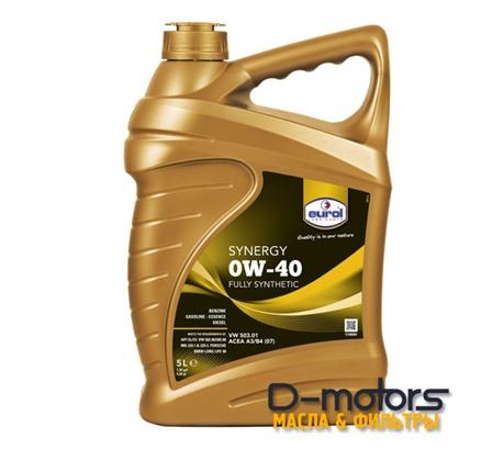 Моторное масло Eurol Synergy 0W-40 (5л.)