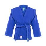 Куртка для самбо JS-303, синяя, р.2/150
